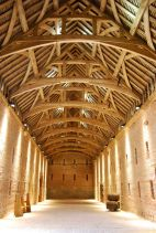 Great Barn interior